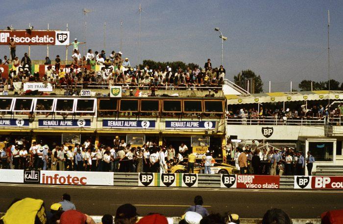 Renault-Alpine A443 Le Mans 1978