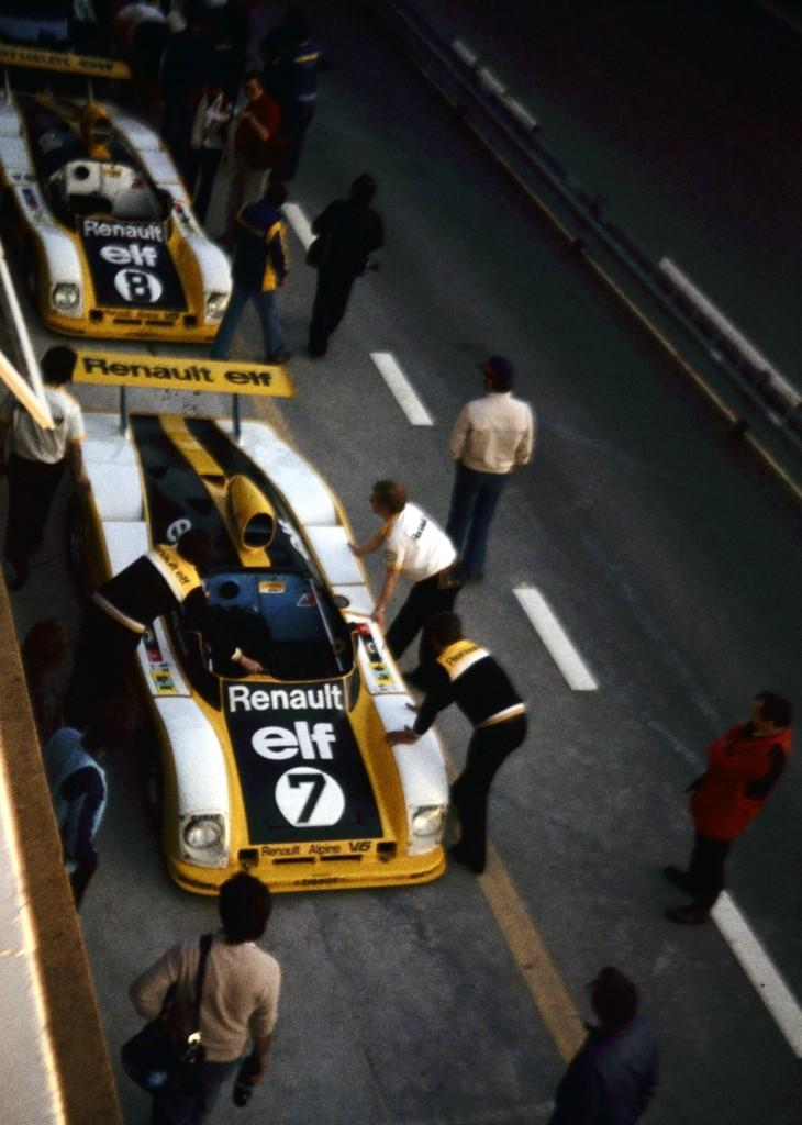 Renault Alpine A442 - Le Mans 1977