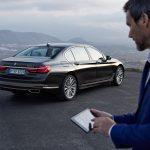 Voiture connectée - BMW 7 Series 750Li xDriv - ©BMW