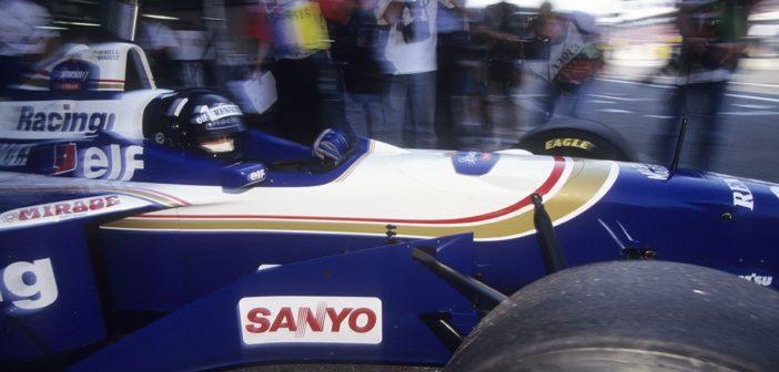 Damon Hill - Hockenheim (1996) - ©Gérard Planchenault