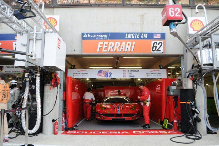 La Ferrari 458 Italia de la Scuderia Corsa (GTE AM) - Le Mans 2015