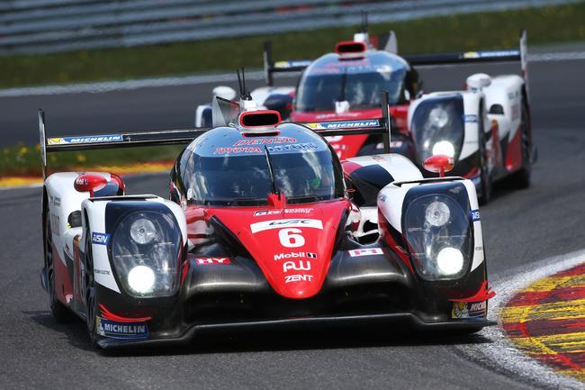 Toyota TS050 hybride WEC Spa-Francorchamps 2016