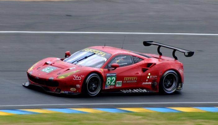 24 Heures du Mans 2016 - Ferrari 488 GTE #82 - Fisichella - Malucelli - Vilander ©autoetstyles.fr - Jean-Charles Desmots