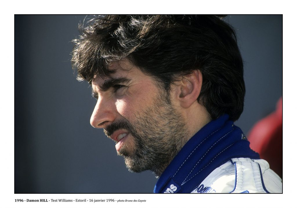 Damon Hill - Test Williams Estoril (1996) - ©Bruno Des Gayets