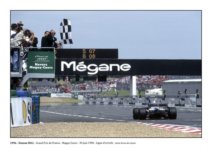 Damon Hill - Magny-Cours (1996) - ©Bruno Des Gayets
