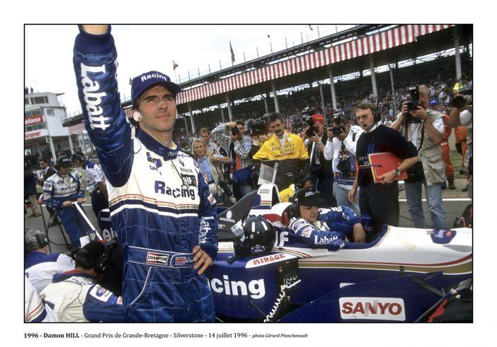 Damon Hill - Silverstone (1996) - ©Gérard Planchenault