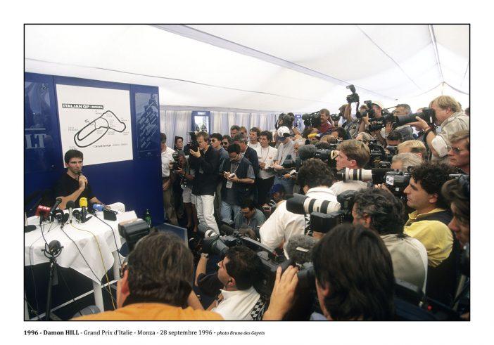 Damon Hill - Monza (1996) - ©Bruno Des Gayets
