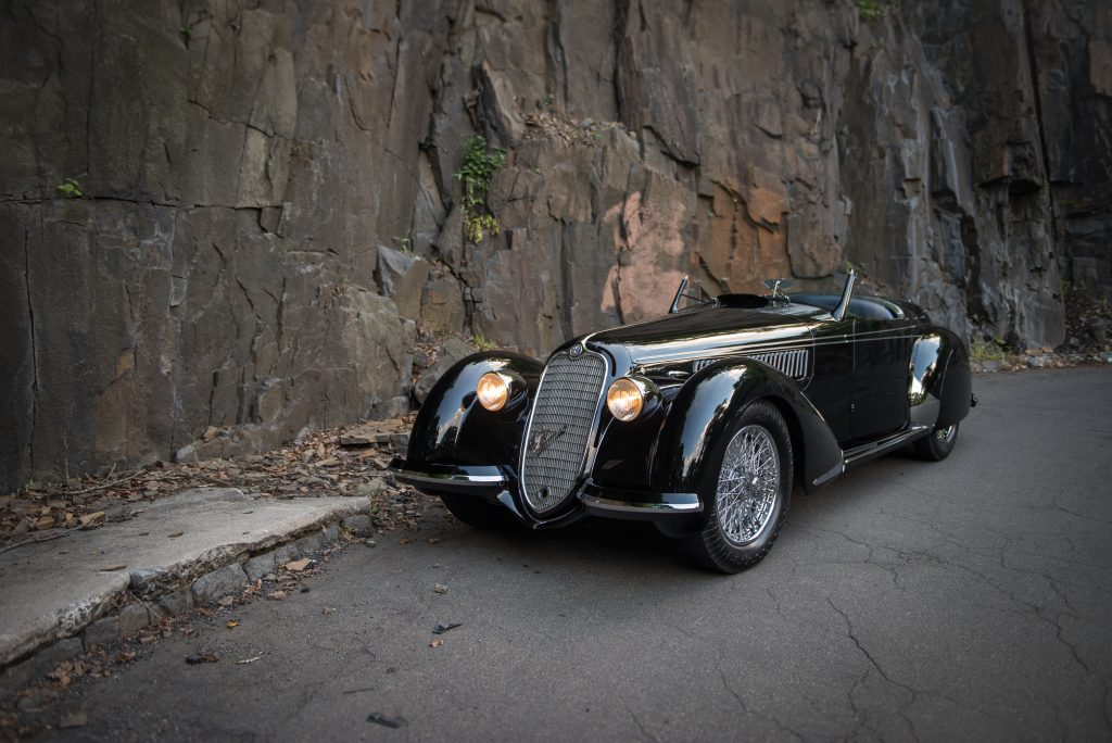 Alfa Romeo 8c 2900b Lungo Spider by touring (1939) - Crédit : Courtesy RM Sotheby's