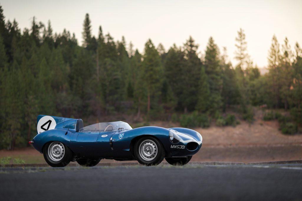 Jaguar Type D (1955) - Crédit : Courtesy RM Sotheby's