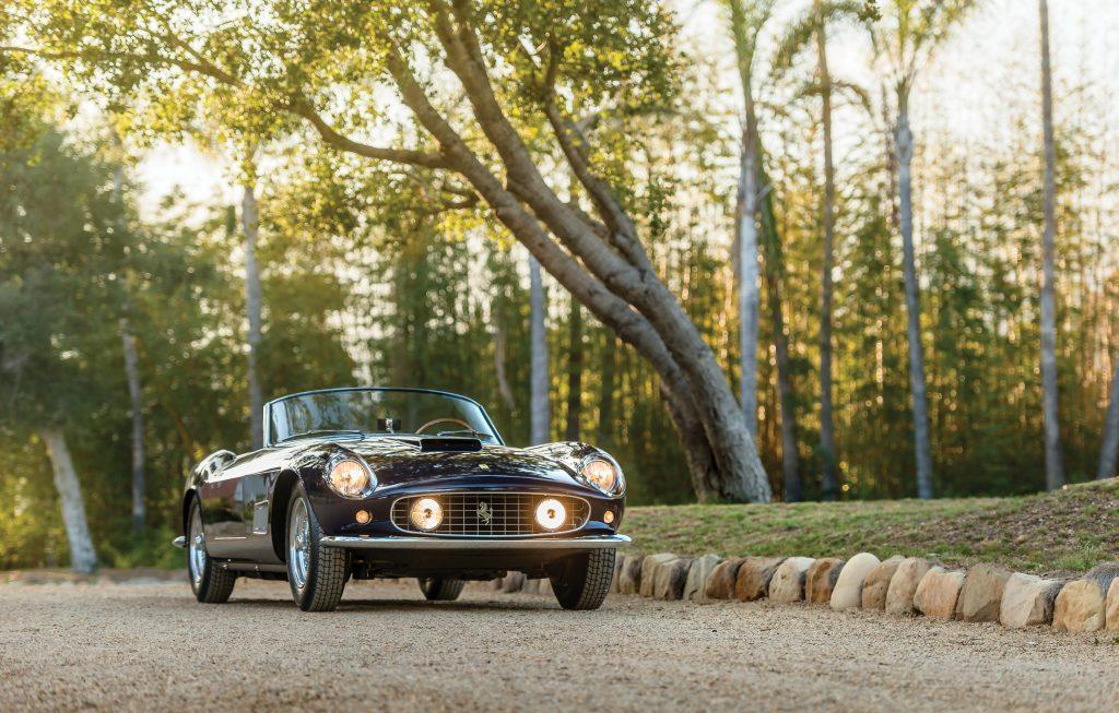 Ferrari 250 GT LWB California Spider By Scaglietti - Crédit : Courtesy RM Sotheby's