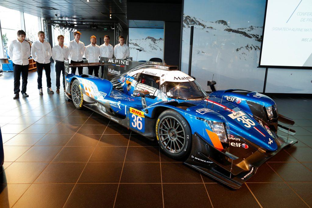 L'Alpine A470 et ses équipages engagés en championnat du monde FIA WEC ainsi qu'aux 24 Heures du Mans