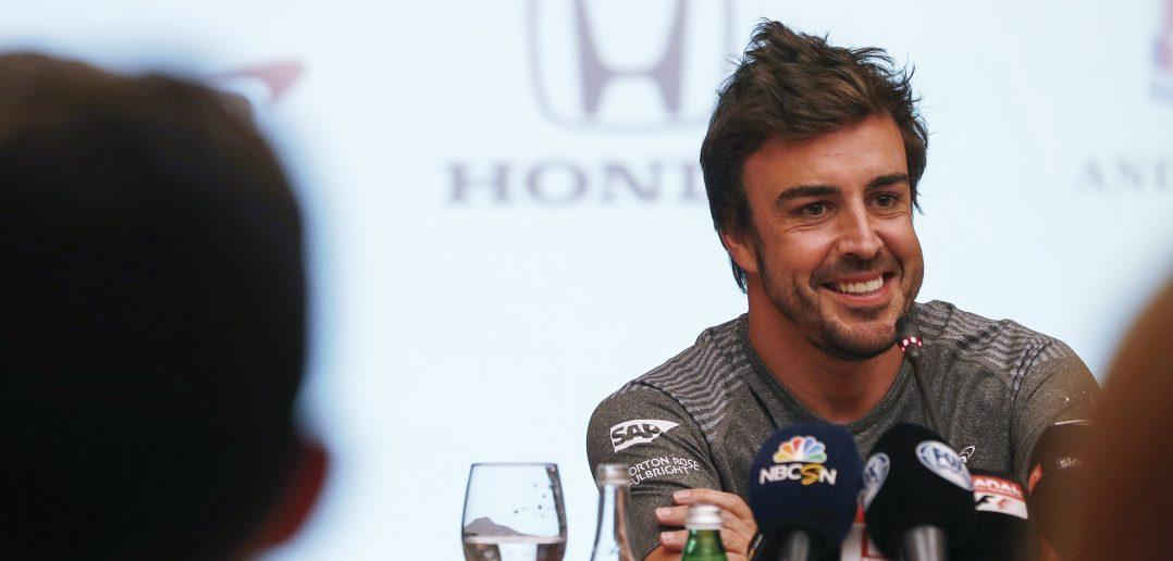 conférence de presse Fernando Alonso Indy 500 Bahrain avril 2017