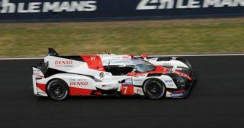 Toyota TS050 hybrid Journée Test des 24 Heures du Mans 2017