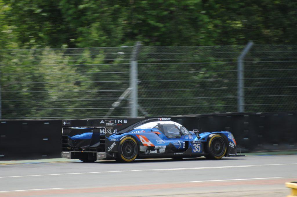 Alpine A470 n°35 - Journée test des 24 Heures du Mans 2017