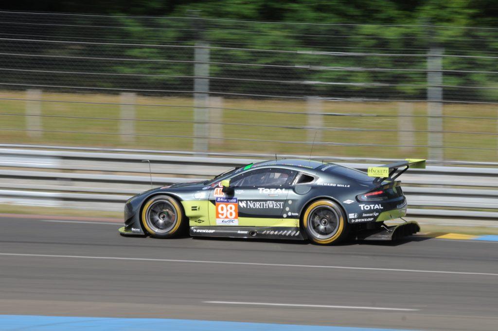 Aston Martin Vantage n°98 - Journée test des 24 Heures du Mans 2017