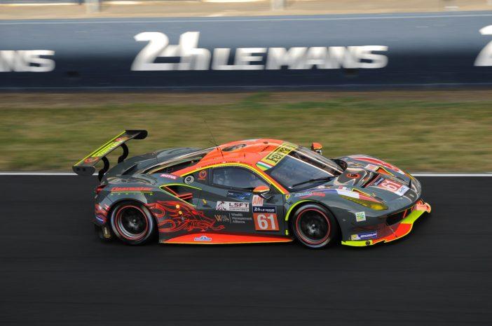Ferrari 488 n°61 du Clearwater Racing