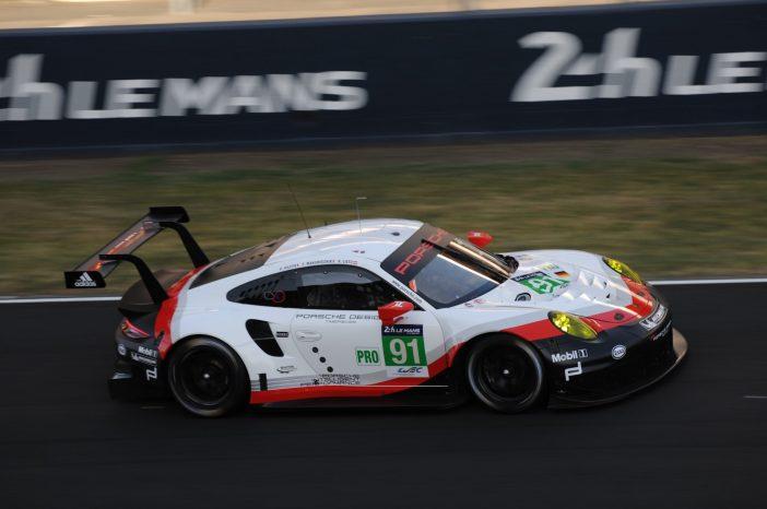 Porsche 911 RSR n°91 - Crédit : Jean-Charles Desmots
