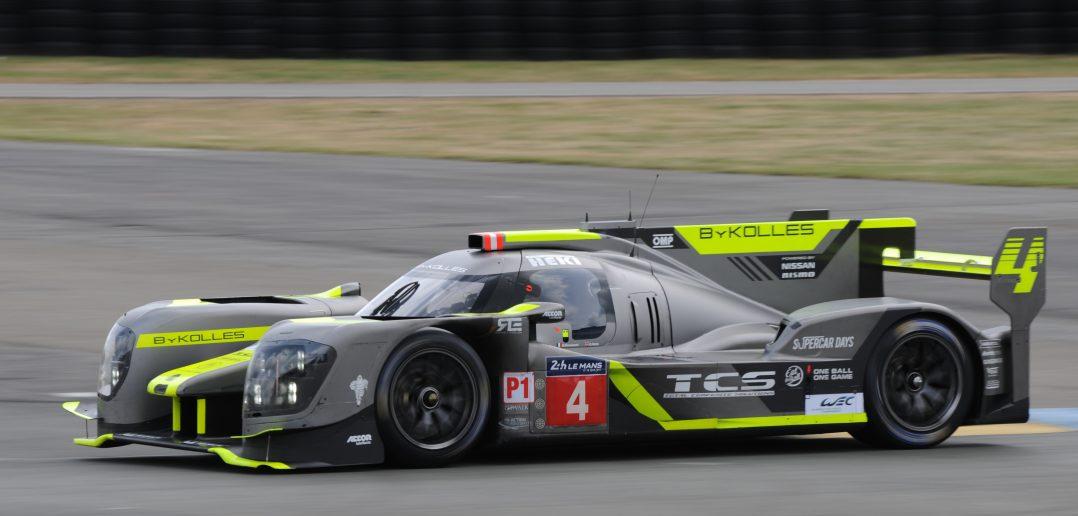 L'Enso CLM lors des 24 Heures du Mans 2017