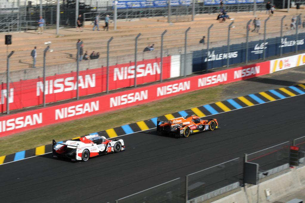 Toyota TS050 Hybride LMP1 et Oreca 07 du G-Drive Racing