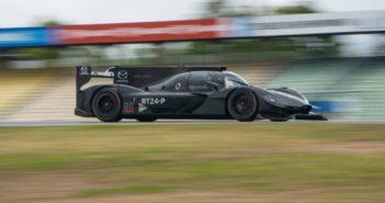 La Mazda Dpi RT24-P du Mazda Team Joest en essais à Hockenheim