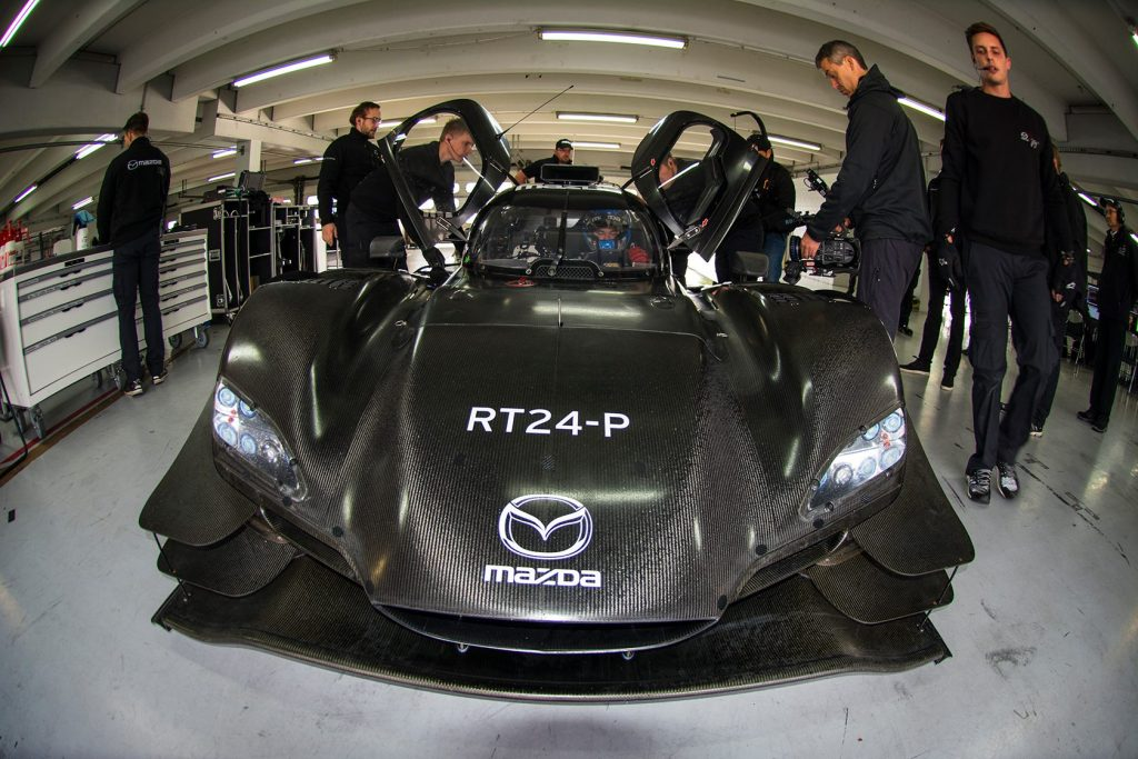 La Mazda Dpi du Mazda Team Joest