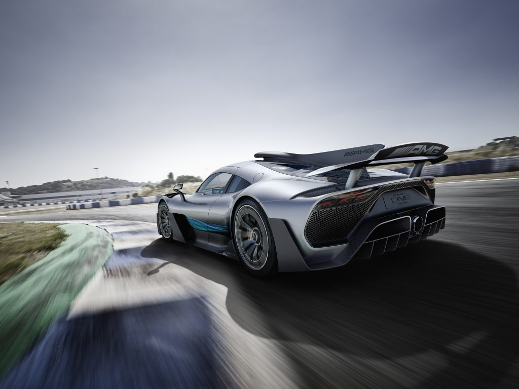 La Mercedes AMG Project One célèbre les 50 ans de la marque Mercedes AMG