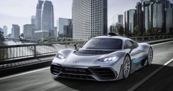 La Mercedes AMG Project ONE a été dévoilée en marge du salon de Francfort