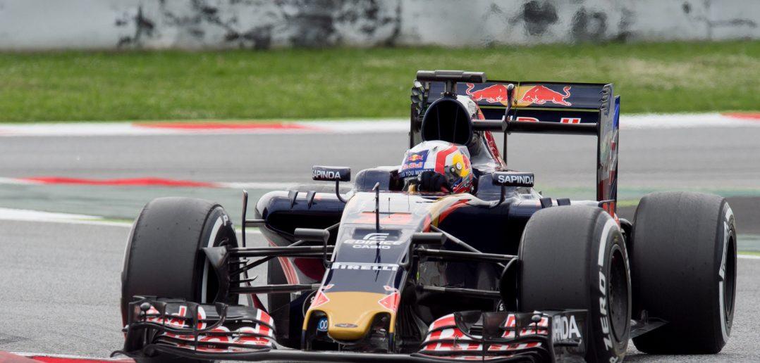Pierre Gasly en tests avec la Scuderia Toro Rosso sur le circuit de Catalogne en mai 2016