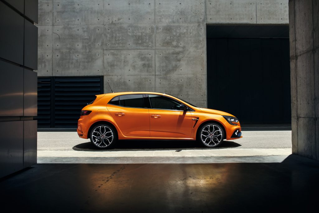 Nouvelle Renault Mégane RS orange tonique