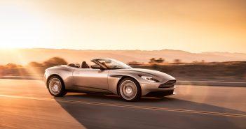 Aston Martin DB11 Volante de profil