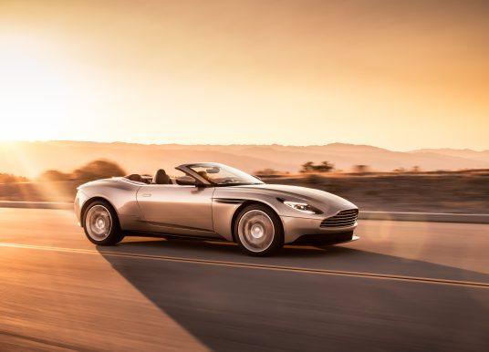 Aston Martin DB11 Volante : un cabriolet élégant et athlétique