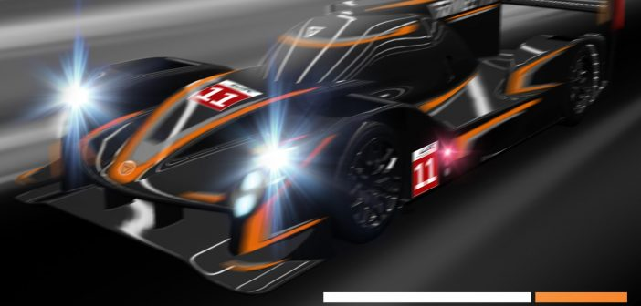 Vue 3D du prototype Ginetta LMP1