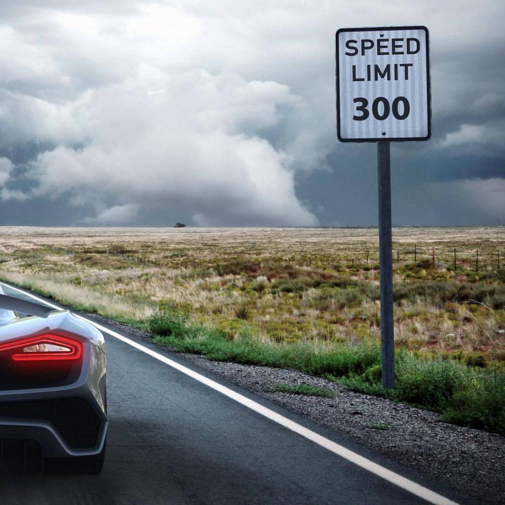 L'Hennessey Venom F5 vise les 300 mph