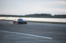 La Koenigsegg Agera RS lors de sa tentative réussie de record du monde de vitesse sur 0-400-0 km/h