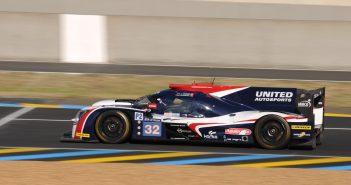 La Ligier JS P217 United Autosports lors des essais du Mans 2017