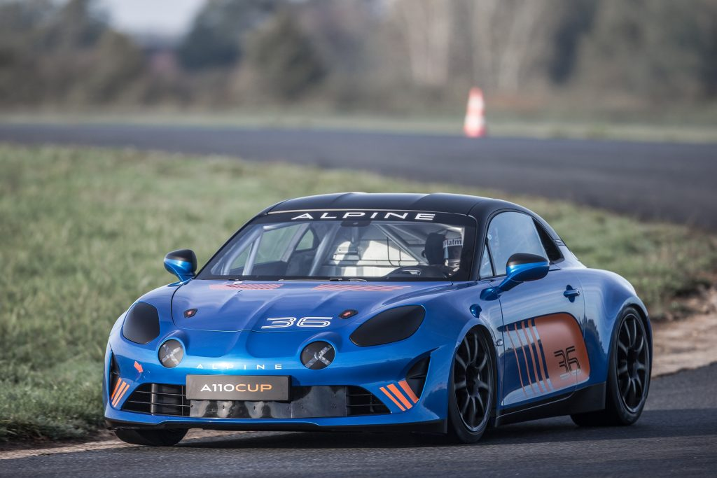 Roulage Alpine A110 Cup