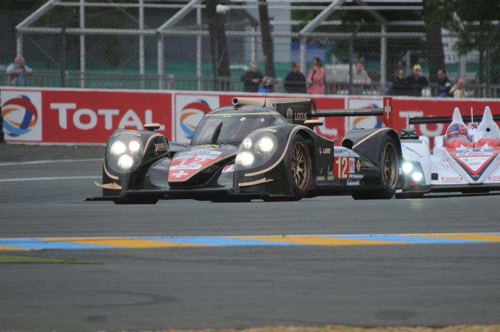 Lola-Toyota du Rebellion Racing à la Chicane Dunlop aux 24 Heures du Mans 2012