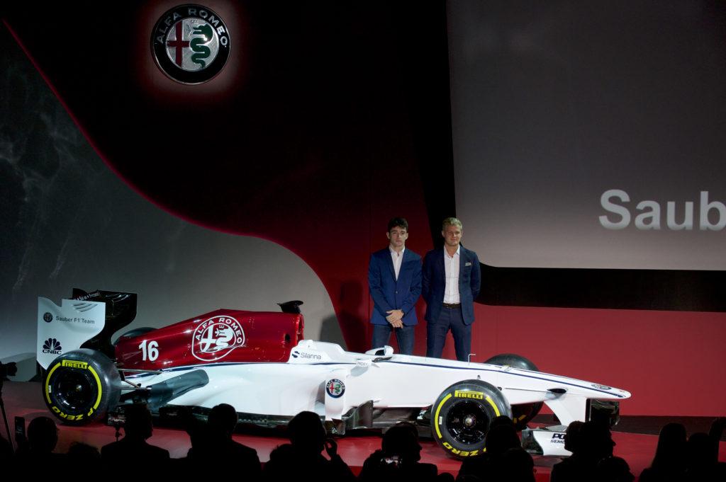 Charles Leclerc et Marcus Ericsson seront les pilotes de l'équipe Alfa Romeo Sauber F1 Team en 2018