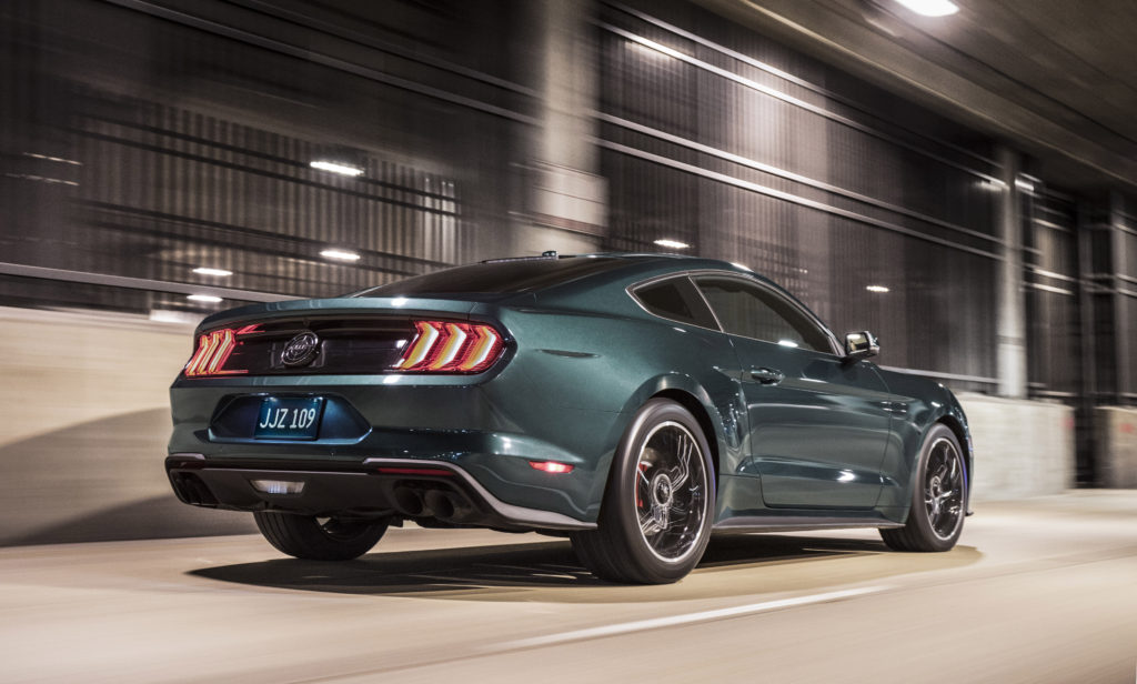 Ford Mustang Bullitt 2019 arrière
