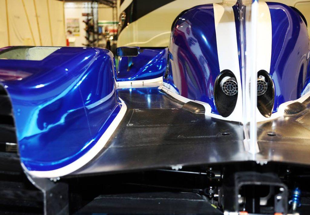 Prototype Ginetta LMP1 G60-LT-P1 au salon Autosport
