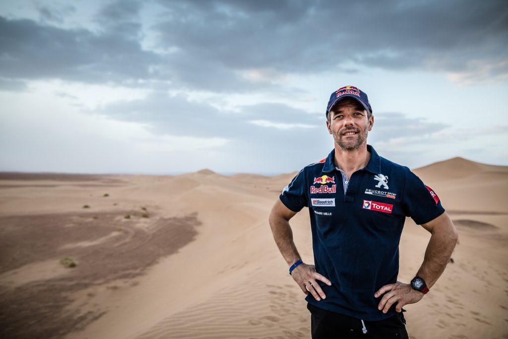Sébastien Loeb au Rally du Maroc 2017