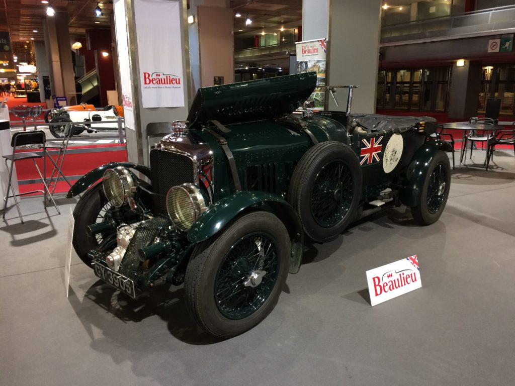 Bentley 4.5 Supercharged du National Motor Museum of Beaulieu