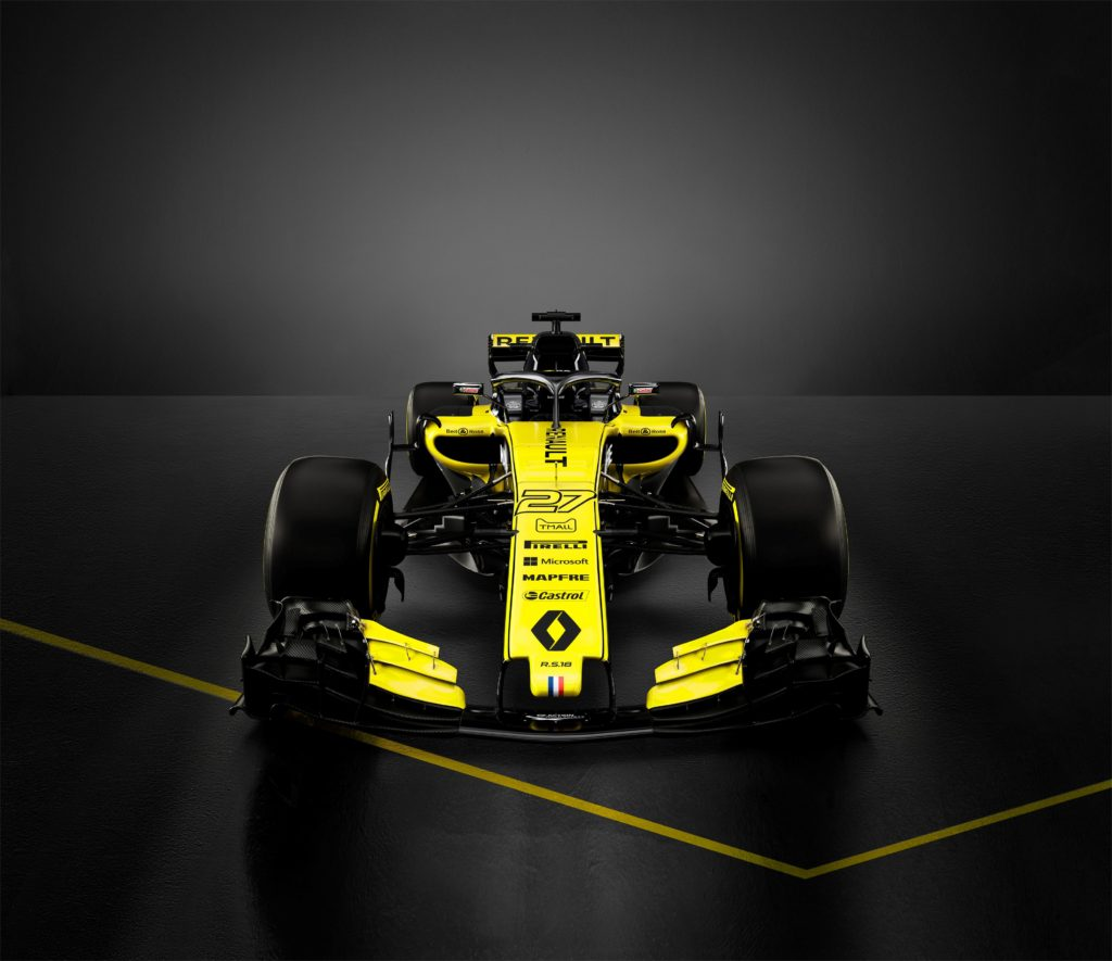 Renault RS 18 face avant