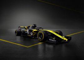 La Renault RS18 dévoilée par Renault Sport Formula One Team