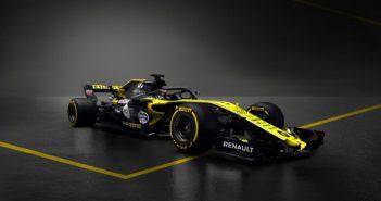 La Renault RS 18 engagée en championnat du monde de Formule 1 2018