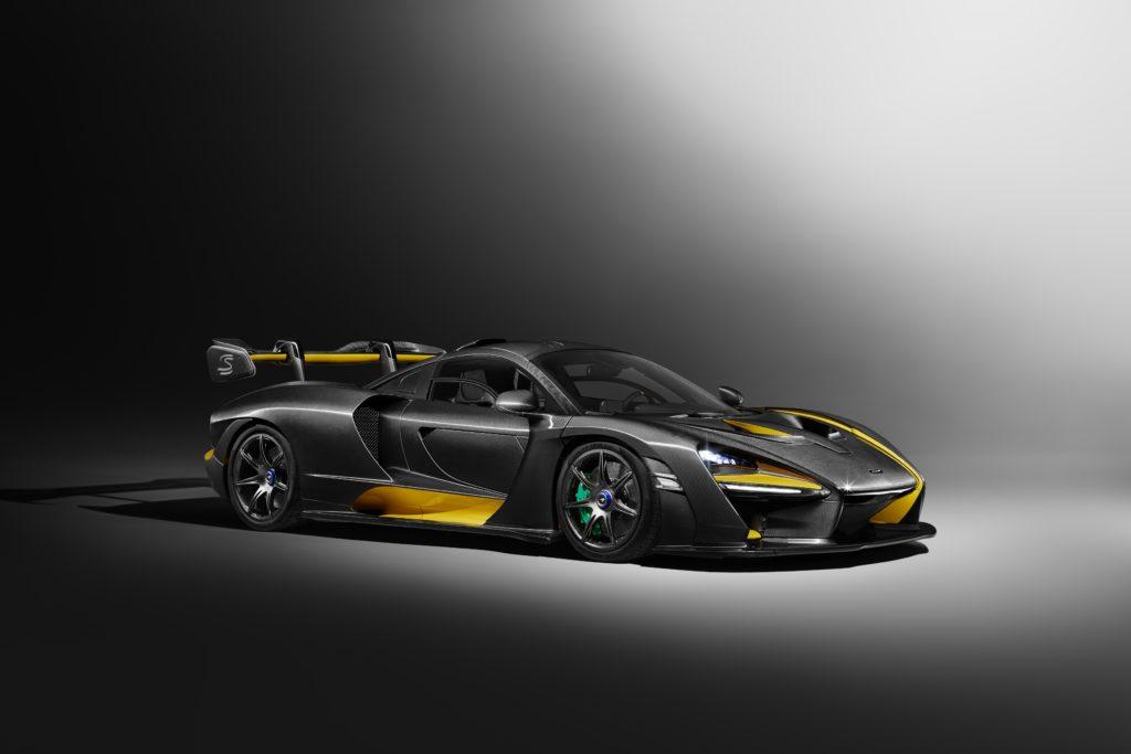 La McLaren Senna carbon theme conçue par MSO
