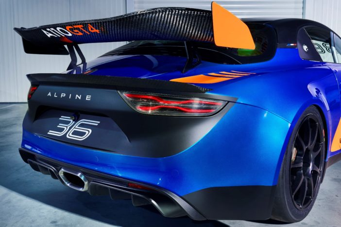 Alpine A110 GT4 Aileron