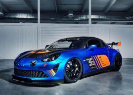 Alpine A110 GT4 : une version plus puissante que la Cup