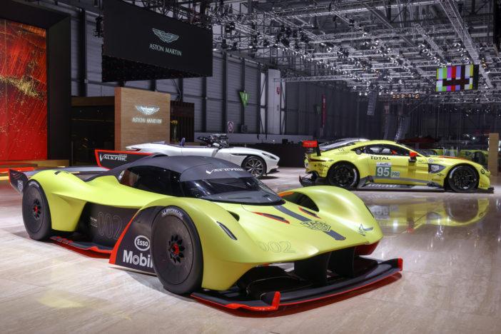 Aston Martin Valkyrie AMR Pro au salon de Genève