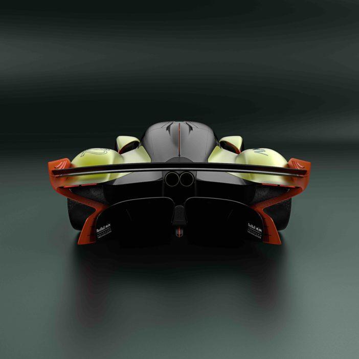 Aston Martin Valkyrie AMR Pro Vue Arrière